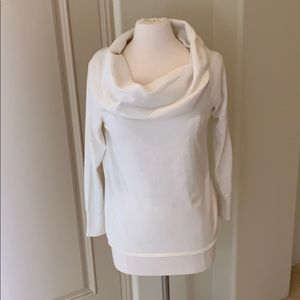 Joie Cotton and cashmere Cowl Neck Sweatet